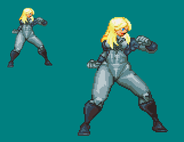Sprite Work: Ultrawoman by SXGodzilla