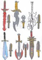 Nimrod's Weapons by OneWingedDaemon