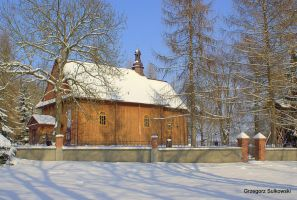 The church in winter by Su58