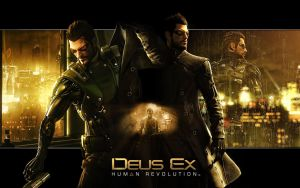 Deus Ex Human Revolution Wall by OutlawNinja
