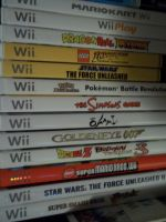 Wii Game Collection by Eye-of-Kaiba