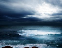 STORM AT SEA BG STOCK VII.3 by ArwenArts