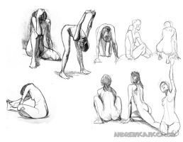 Life Drawings- 12 by andrewk