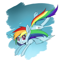 Rainbow Dash by SilberSternenlicht