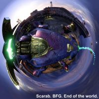 Scarab. BFG. End of the world. by Tropic-Lightning