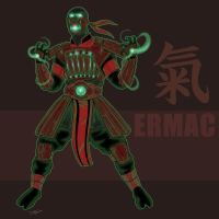 Ermac Redesign by darknight7