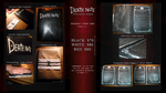 Death Note NOTEBOOK $70 by Leustante