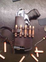 Nerf Holster Prototyp-2.1 by Leder-Joe