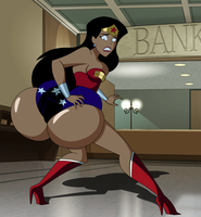 Commission: Wonder Booty by grimphantom
