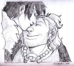 DA2 - Varric and Hawke by aimo