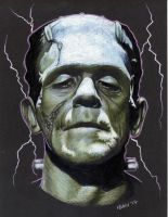 Frankenstein's Monster by fionabird