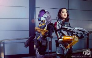 Mass Effect cosplay - 01 by Millster-Ink