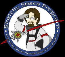 Sketchy Space Program Emblem by SketchyBehavior