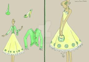 Lemon And Lime Dress by sunshishi