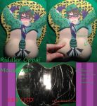 Riddler Oppai Mouse Pad by irishimo