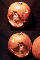 Pumpkin carving 1 by Cissell