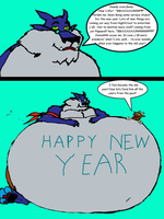 Happy New Feeding by NightCrestComics
