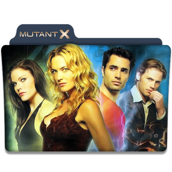 Mutant X : TV Series folder Icon v1 by DYIDDO