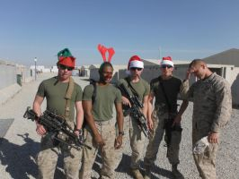 Merry Christmas Deployment 1 by HawaiianMarine
