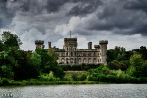 Eastnor Castle - view from across the water by I0l0I