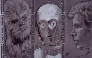 ESB Sketch Cards by Ethrendil