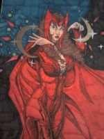 Scarlet Witch by Lionzstorm
