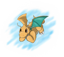 Dragonite by AlyTheWolf