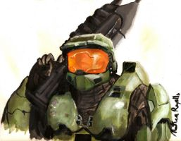Spartan 117:John, Master Chief by Vacation-Avenger