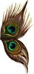 Peacock wings stock 1 by Leaush