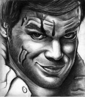 Dexter - Michael C. Hall (going to re draw this) by HarryMichael