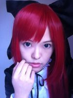 Erza Scarlet Costest by takkeaya