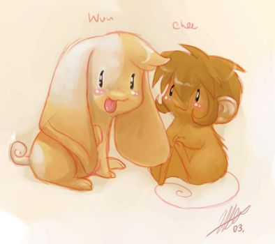 Chee and Wiu luff luff by cheenot