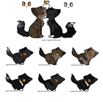 Character Kits adopts 1 (Closed) by Evertooth