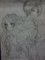 Sketch: Contest Entry- Romeo X Juliet by TsukiREN96
