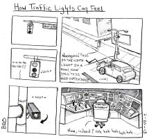 How Traffic Lights Can Feel by SometimesDrawings