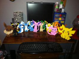 Pokemon Wooden Figures 2 by daghostz