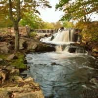Southford Falls Colored Oil by jnati