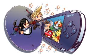 Gamestation - FF goes to PSP by sate-bang-somad