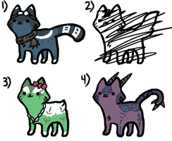 Adopts Batch 1 [Ended] by AdventureAdopts