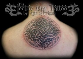 swasticross celtic dragon tattoo by Ash-Harrison