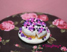 Christmas miniature cheesecake by tinkypinky
