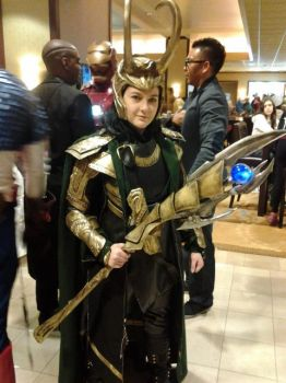 ALA:Loki in Armor by NerdyArtistXIII