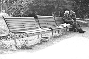 The bench in milan_06 by marcfaster