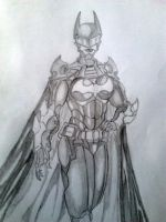 Batgirl - Cassandra Cain - Redesign by jay911sf
