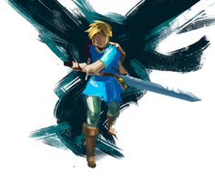 Zelda fan art by SergeySavvin