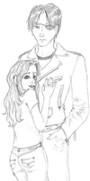Haschar and Rianne by Rinlyn