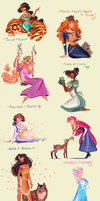 Pets and Princesses by Samiriam