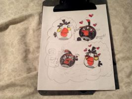 Angry Bird Love 2 by OswaldAF