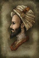 The Maharaja by LaTaupinette