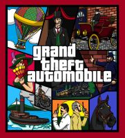 ''Grand Theft Automobile'' by kitfox21187